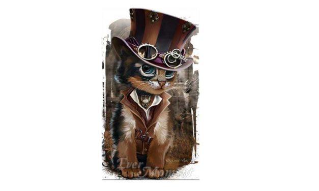 Vecka 26 – Steampunk katt