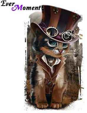 steampunk katt