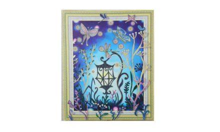 Vecka 19 – Lampa med fjärilar