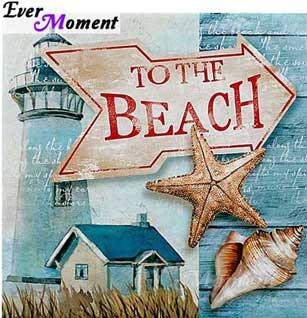 Till stranden