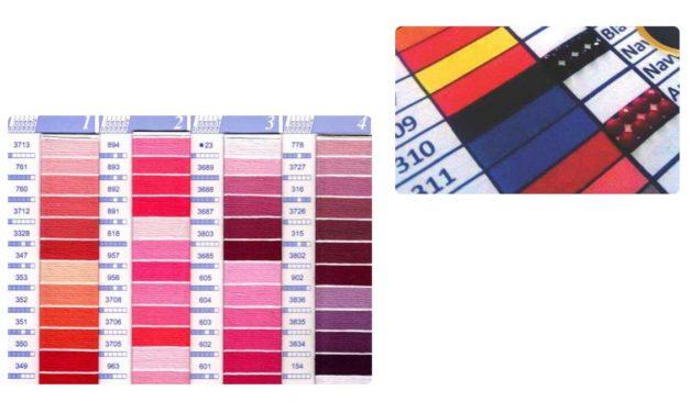 Gör din egna DMC färgkarta