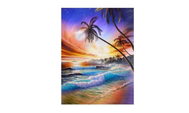 Vecka 26 – Strand med vågor