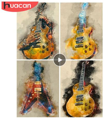 Häftiga gitarrer