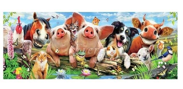 Glada djur