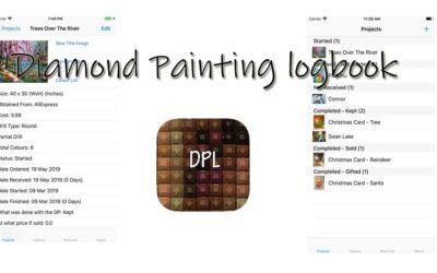 Diamond Painting logbook – appen för dig som sysslar med DP