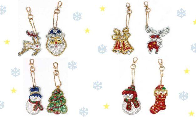 Vecka 47 – Nyckelringar med jultema