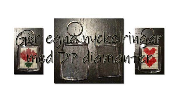 Nyckelringar med överblivna Diamanter