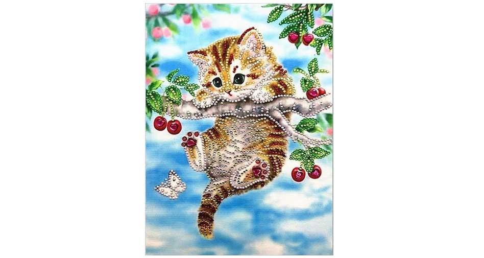 hängande katt