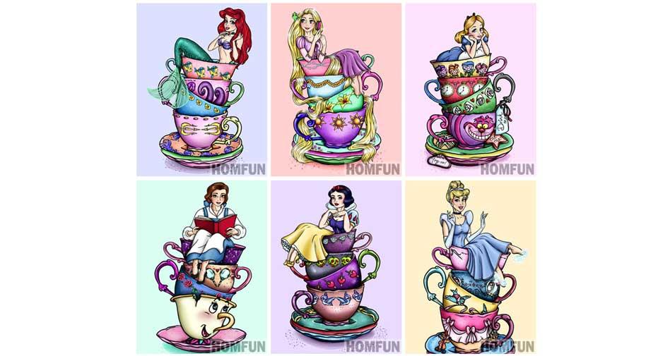 prinsessor i koppar