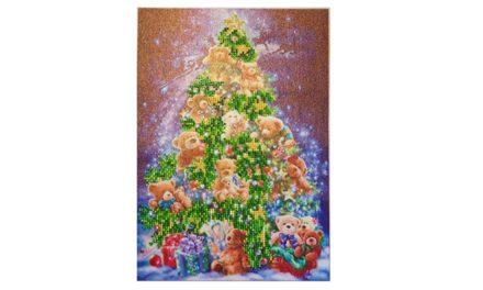 Julgran med nallar