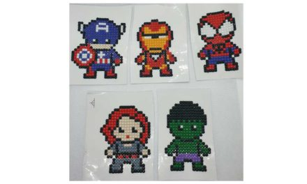Klistermärke – Superhjältar