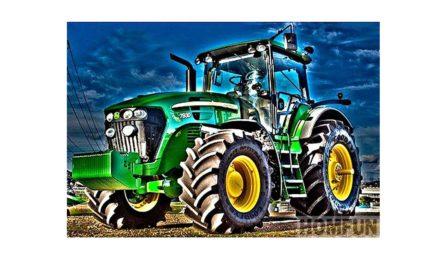Vecka 30 – Grön traktor
