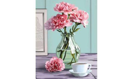 Vecka 28 – Blommor i vas