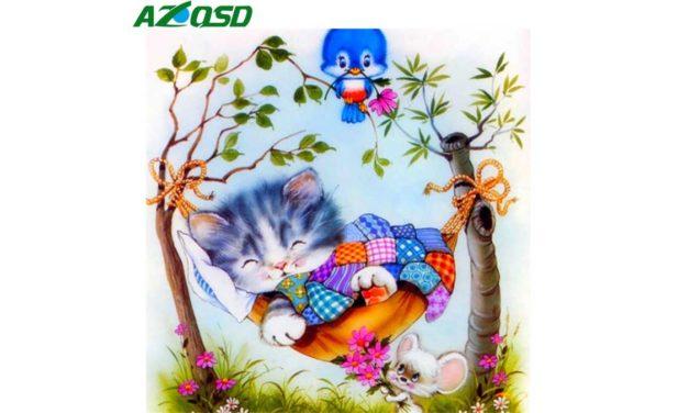 Vecka 39 – Sovande katt