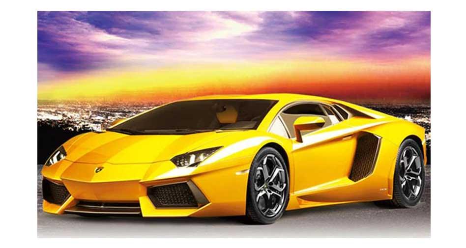 gul sportbil