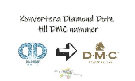 Diamond Dotz till DMC nummer