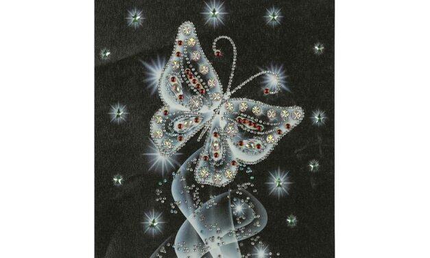 Vecka 2 – Fjäril i silver