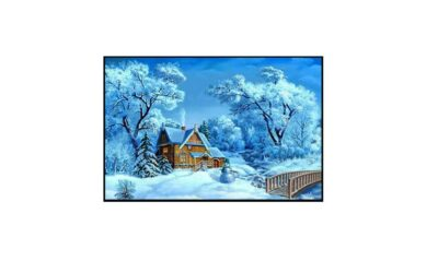 Vecka 1 – Hus i snötäcke