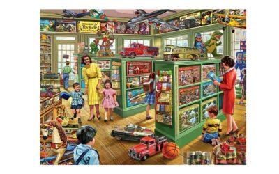 Vecka 7 – Leksaksbutik