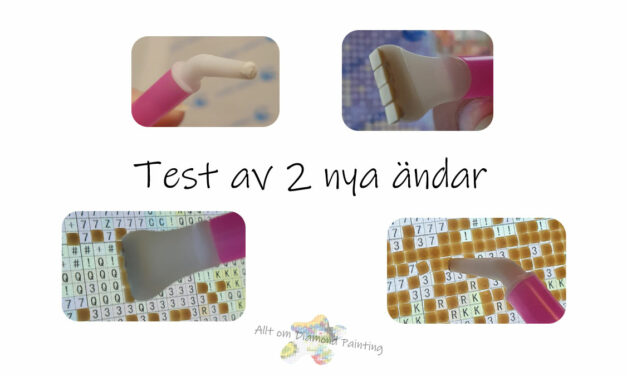 Test av 2 nya ändar till DP pennan