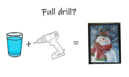 Vad är full drill?