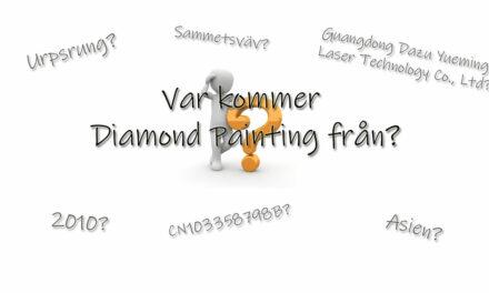 Var kommer Diamond Painting från?